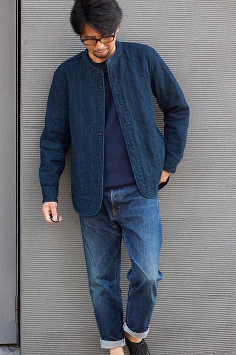 HAND ROOM バンドカラーシャツジャケット