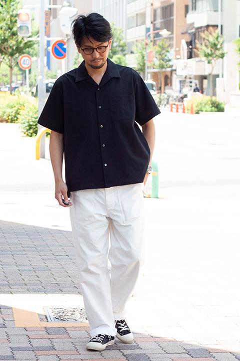 comm.arch.オープンカラーシャツのコーディネート