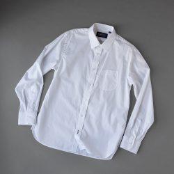 HANDROOM 160/2 ショートレギュラーカラーシャツ