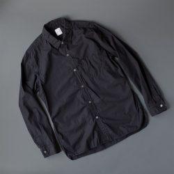 SAGEDECRET タイプライターレギュラーシャツ|ホワイトブラック